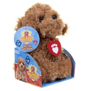 Golden Bear Waffle the Wonder Dog Soft Toy with Sounds (3401)