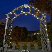 Smart Solar Firefly String Lights- Warm White Leds 200 (1060273)