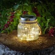 Smart Solar Firefly Glass Jar (1080113)