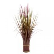 Smart Solar Faux Bouquet - Lilac Grass Trails 70cm (5608100)