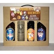 3 Bottled Beer & Glass Gift Pack