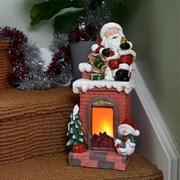 Three Kings Festive Fireplace (2535041)