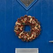 Three Kings Winter Spice Wreath 36cm (2541013)