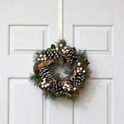 Three Kings Mistlepine Wreath 36cm (2541016)