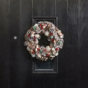 Three Kings Froststar Wreath 36cm (2541017)