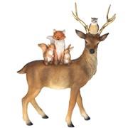 Reindeer With Animals (37221)