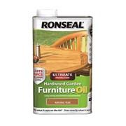 Ronseal Hardwood Furnture Oil Teak 1lt (37358)
