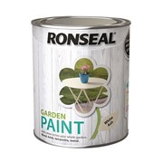Ronseal Garden Paint White Ash 750ml (37402)