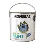 Ronseal Garden Paint Cornflower 2.5l (37423)