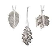 Iron Leaf Hanger Silver (380016)