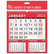 Red And Black 3 Mtv Calendar (3804)