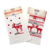Xmas Tea Towels 3pk (XMA165795)