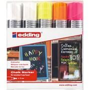 Edding 4090 Neon Chalk Board Markers 5pk (4-4090-5999)