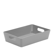 Wham Studio Basket Rectangular Cool Grey 4.01 (25627)