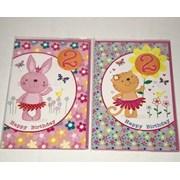 Simon Elvin Age 2 Girl Birthday Card