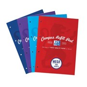 Oxford Campus Softcover Refill Pads 300page (400033050)