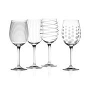 Mikasa Cheers White Wine Glasses 4s (5159282)