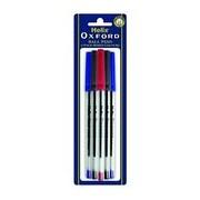 Oxford Ball Pens Asst 6s (PB1010)
