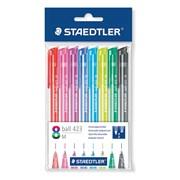 S.8 Rainbow Retractable Ball Pens (42335MPB8)