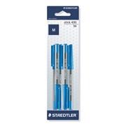 Staedtler 6 Stick Pens Blue (M3BK6D)