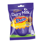 Dairy Milk Daim Mini Egg Bag 77g (130865)