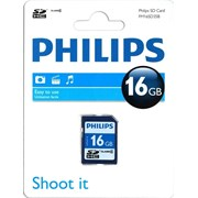 Philips Sdhc Card 16gb Class 4 (FM16SD35B)