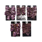Purple Bows 4s 10cm (445347)