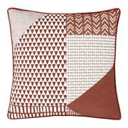 Larsson Geo Cushion Terracotta 55x55 (DS/44750/W/CC55/TE)
