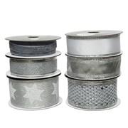 Ribbon White/silver 500cm (448647)