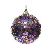 Bauble w Sequins Royal Purple 8cm (457638)