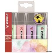 Stabilo Boss Original Pastel Highlighter 4pk (70/4-2)