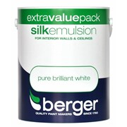 Berger Silk Emulsion Brilliant White 3l (5020449)