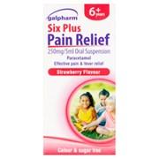 Galpharm Age 6+  Paracetamol Suspension 80ml (GSPS)