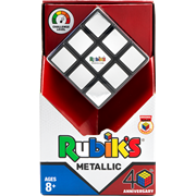 John Adams Metallic Rubiks Cube (10840)
