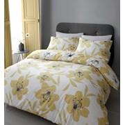 Lily Duvet Set Yellow Double (BD/47807/W/DQS/YE)