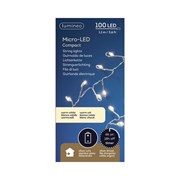 Micro Led Compact Silver/warm White 100s (481579)