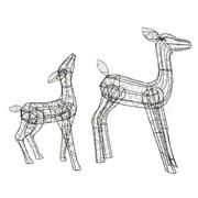 Micro  Big Led Wire Deer Warm White (497454)