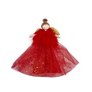 Red Fairy Tree Topper (4XS734)