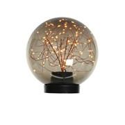 Micro Led Plc Lying Ball Copper/classic Warm 20cm (500240)