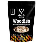 Big K Wood Wool Firelighters 300g (FLWOOD)