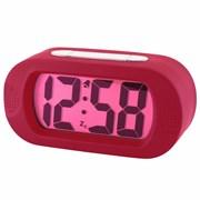 Vetro Jumbo Lcd Alarm Clock Cranberry (13658)