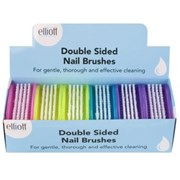 Elliots Double Sided Nail Brush Frosted (10F00149)