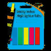 Tiger Sticky Index Highlighter Tabs (301307)