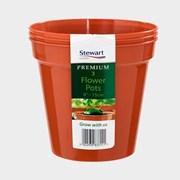 Stewart Premium Flower Pot 15cm 3s (239919)