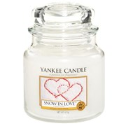 Yankee Candle Jar Snow In Love Medium (1249714E)