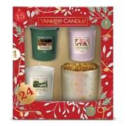 Yankee Candle 3 Votives And Holder Gift Set (1631471E)