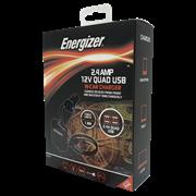 Energizer 12v Flexible Quad Usb In Car Charger (50528)