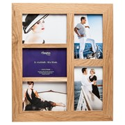 New England Oak Frame 5 Aperture (4648AP5)
