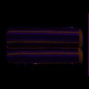 Kingsley Carnival Stripe Bath Sheet Grey (10581030)