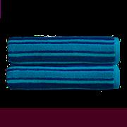 Kingsley Carnival Stripe Bath Sheet Peacock (10583090)